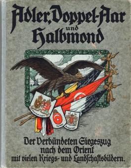 Boek Balkanzug door Ernst Wiesener, 1916 (collectie Arjan den Boer)