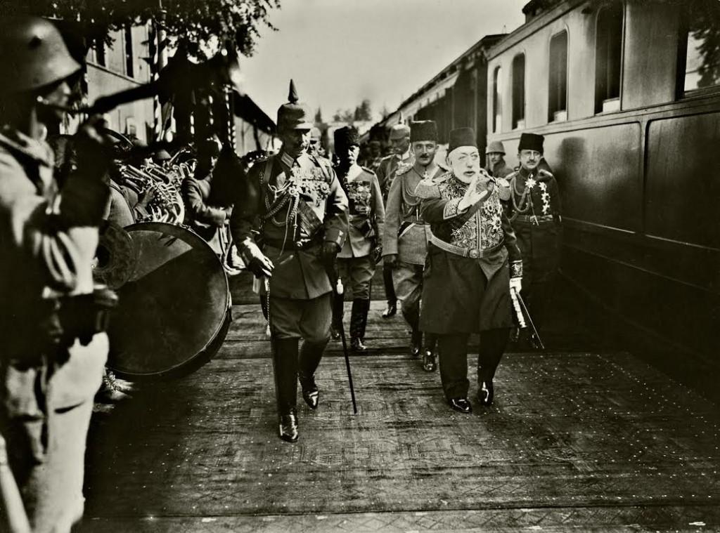 Aankomst Wilhelm II in Constantinopel, 1917 (collectie Huis Doorn)