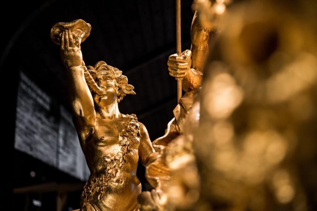 Koningssloep bij het Scheepvaartmuseum