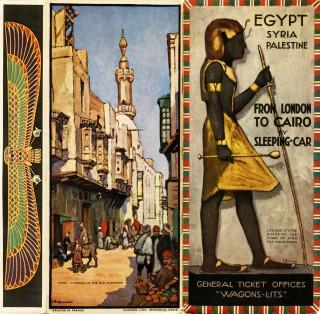 Brochure Londen-Caïro, 1928 (collectie Arjan den Boer)