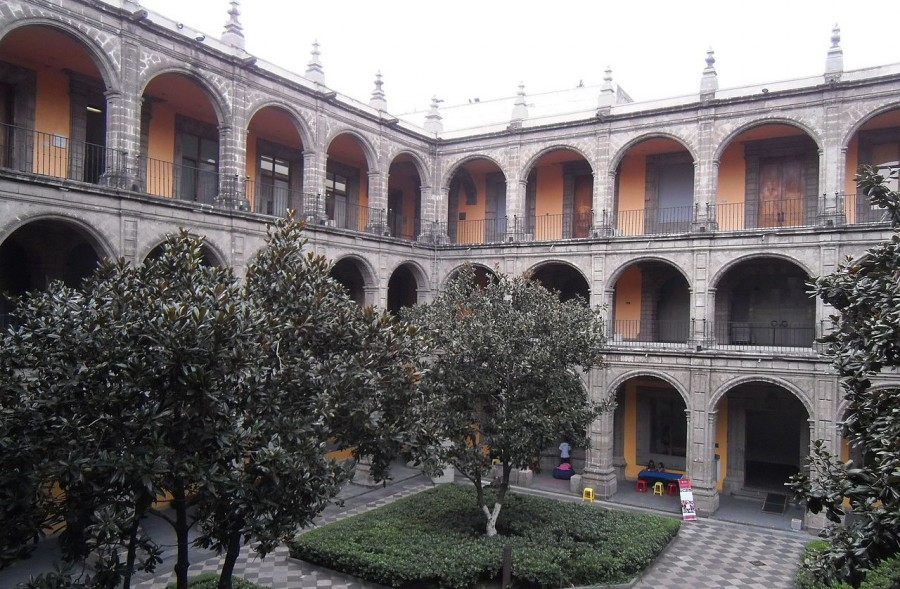 College van San Ildefonso in Mexico Stad (CC BY-SA 3.0 - Patricia Alzuarte Díaz - wiki)