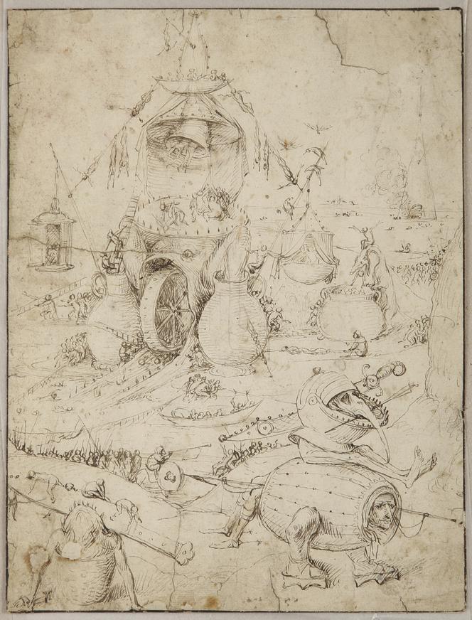De ontdekte tekening van Jeroen Bosch (Noordbrabants Museum)