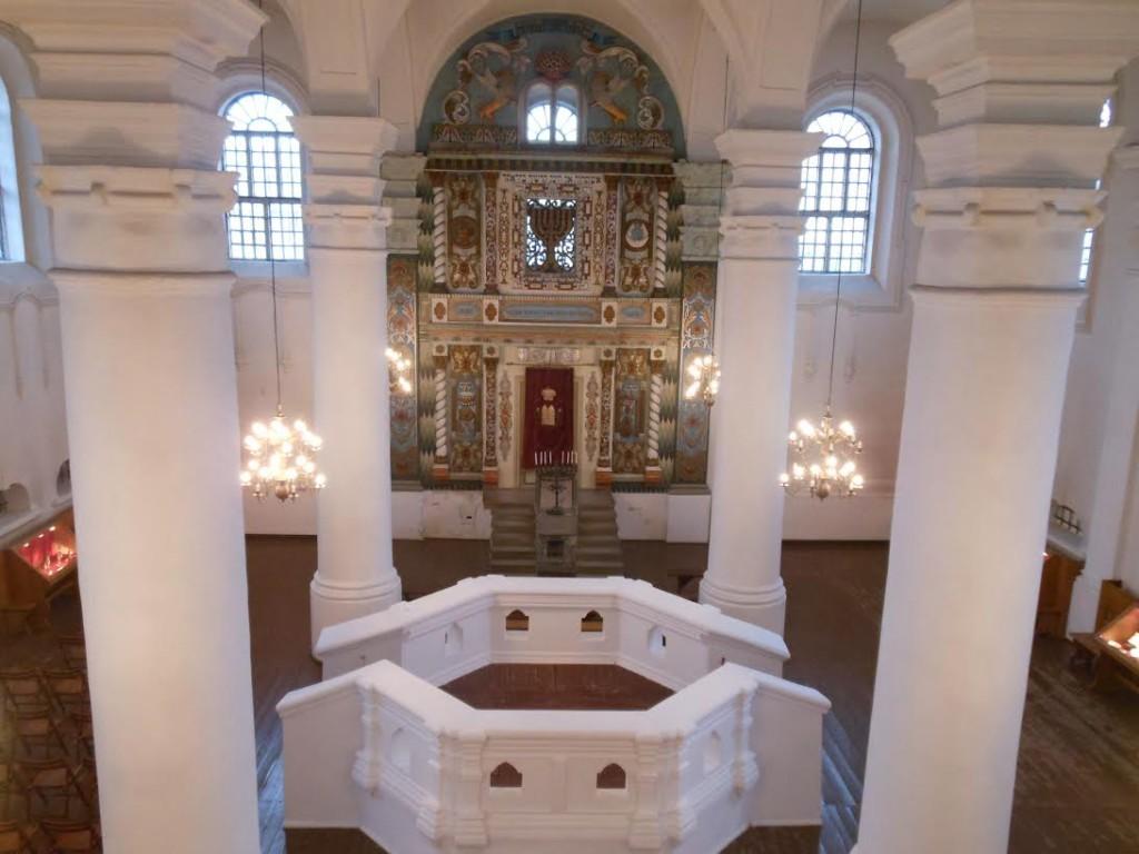 De synagoge in Wlodawa