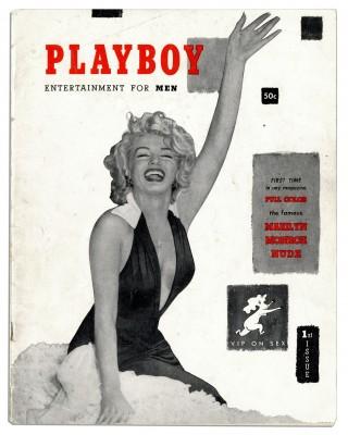 Eerste uitgave van de Playboy, met Marilyn Monroe op de cover