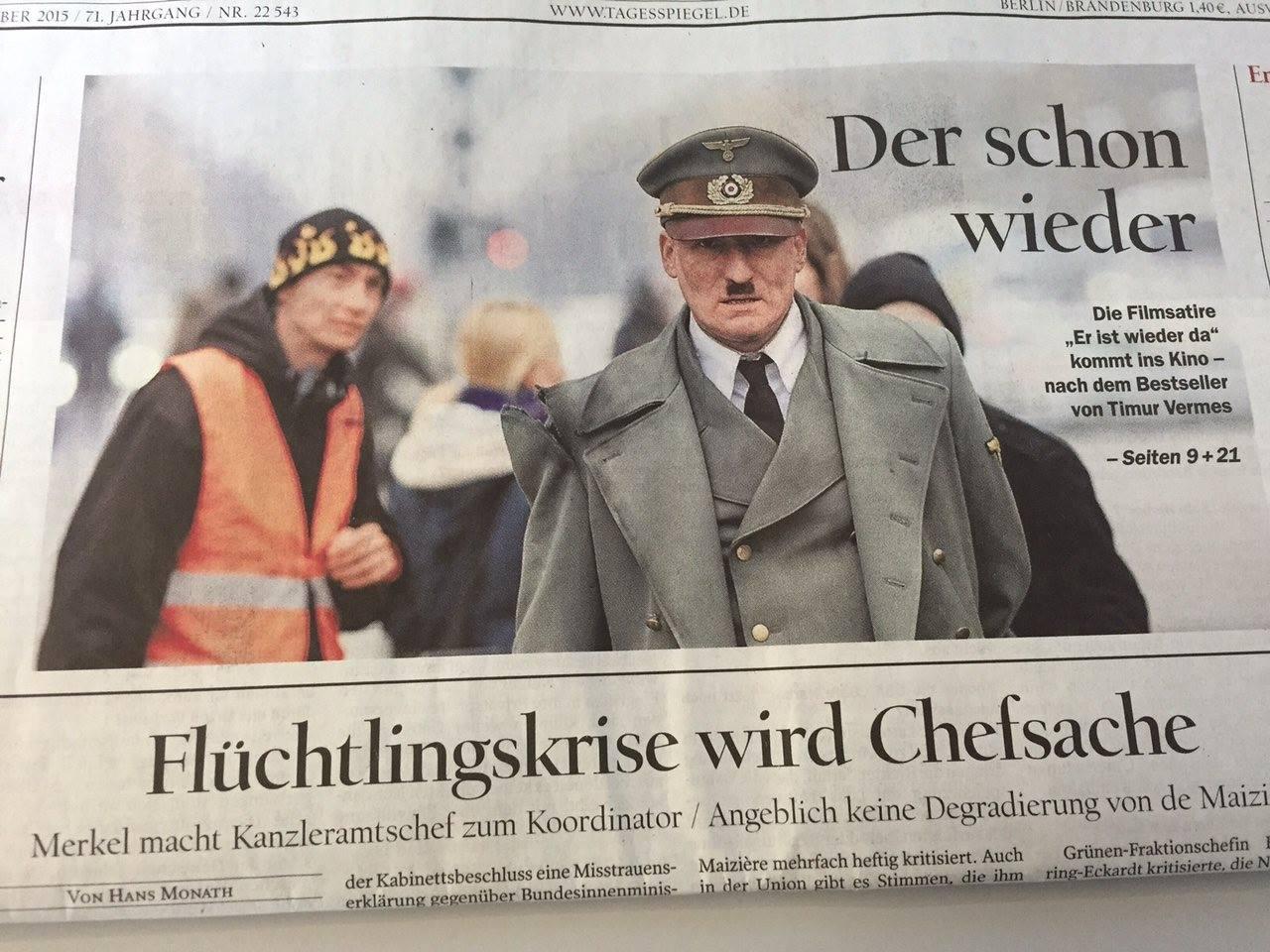 Citaten Hitler Duits : Duitse krant blundert met hitler foto