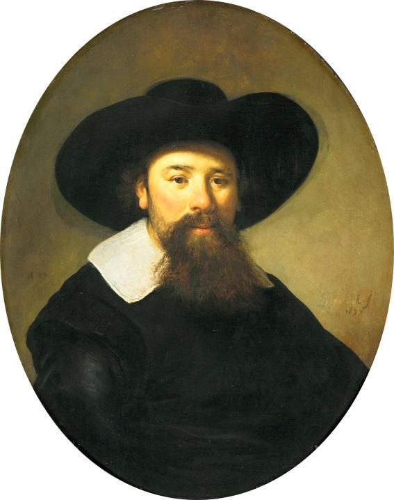 Govert Flinck, Portret van een 44-jarige man, 1637. Mauritshuis Den Haag