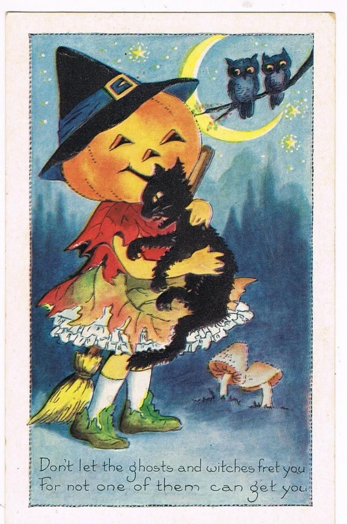 Halloween-kaart (eBay)
