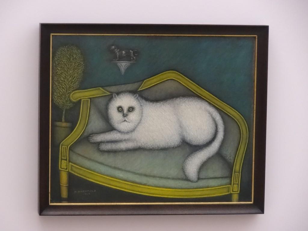 Morris Hirshfield - Angora cat