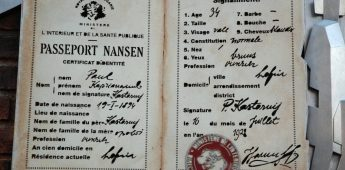 Ontdekkingsreiziger gaf stateloze vluchtelingen paspoort