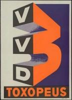 Oude verkiezingsposter van de VVD