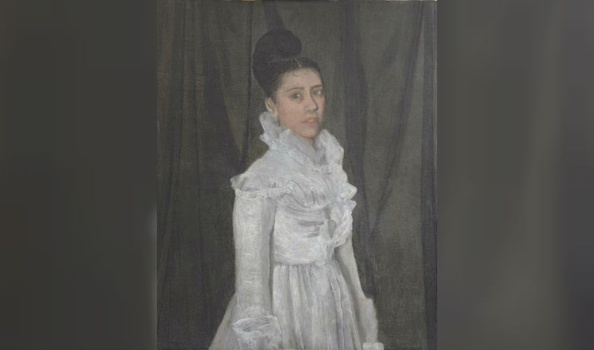 Symphony in White Girl in muslin dress - James Whistler