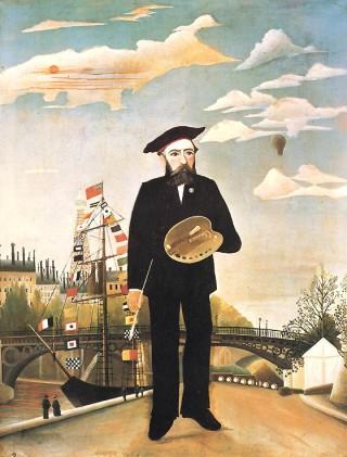 Zelfportret Henri Rousseau Wikipedia