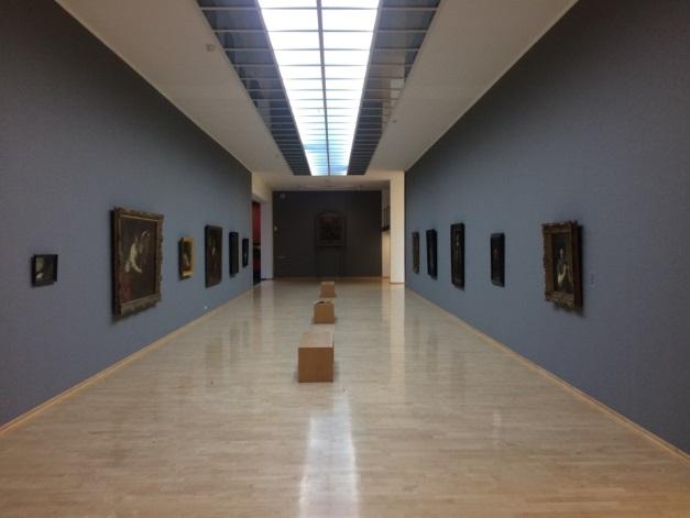 Een zaal in de tentoonstelling