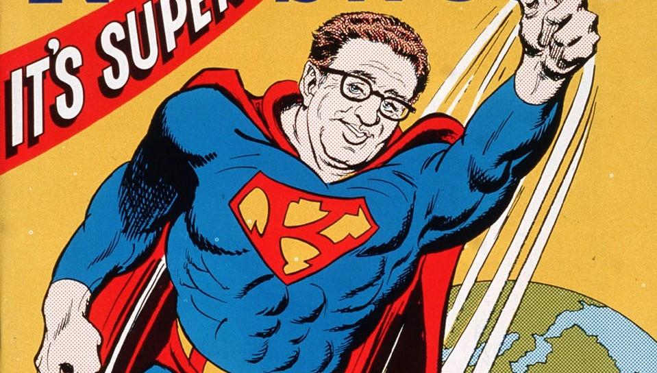 Kissinger op cover van Newsweek: Super-K
