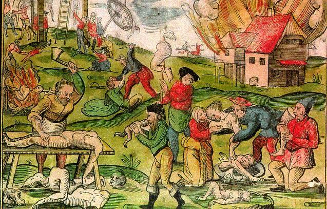 Hongersnood en kannibalisme in de Middeleeuwen. Bron: www.irishhistorypodcast.ie