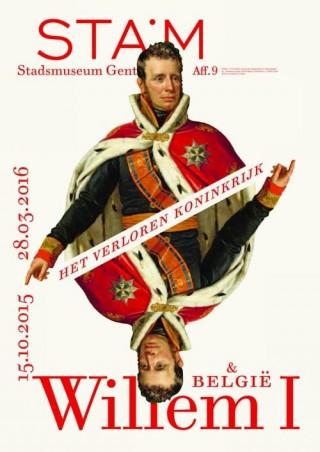 Affiche van de tentoontstelling 'Het verloren koninkrijk, met grote aandacht voor koning Eillem I.