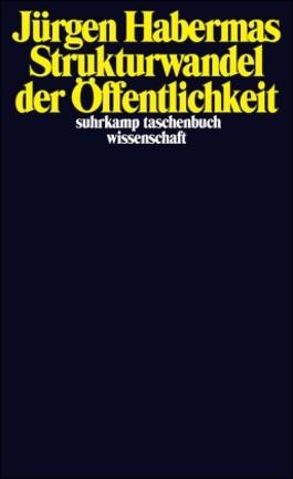 Boekomslag Habermas, Strukturwandel der Öffentlichkeit (1962)