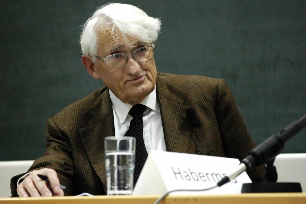Jürgen Habermas. Bron: Wikimedia