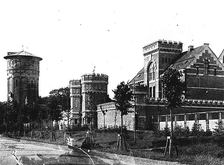 Gevangenis Groningen Hereweg - Gemeentearchief Groningen-Nationaal Gevangenismuseum.