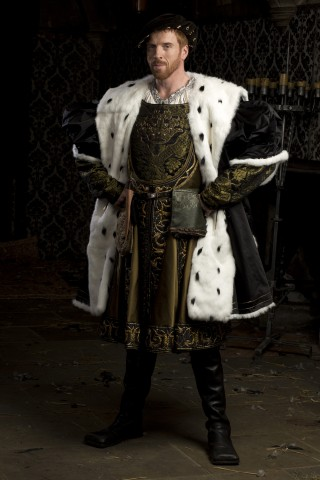 Damian Lewis als koning Hendrik VIII