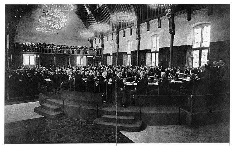 De Tweede Haagse Vredesconferentie 1907
