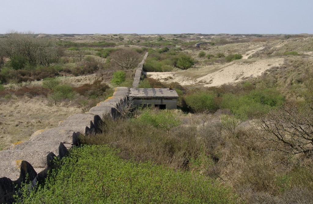 Deel van de Atlantikwall tussen Katwijk en Wassenaar (wiki)