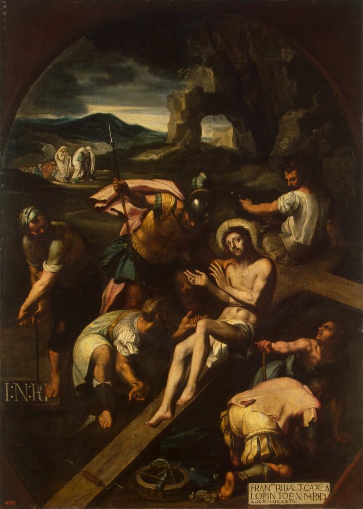 Francisco Ribalta (1565–1628) - Kruisiging, 1582 - © State Hermitage Museum, St Petersburg