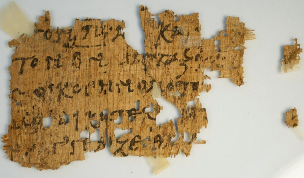 Het papyrusfragment (Geoffrey Smith)