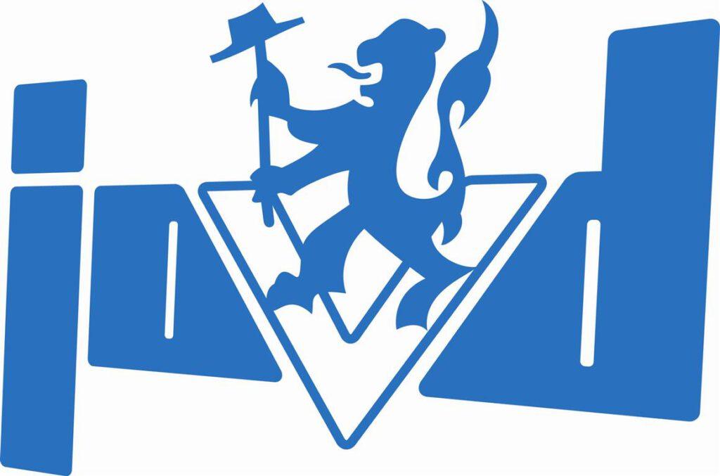 Huidige logo van de JOVD