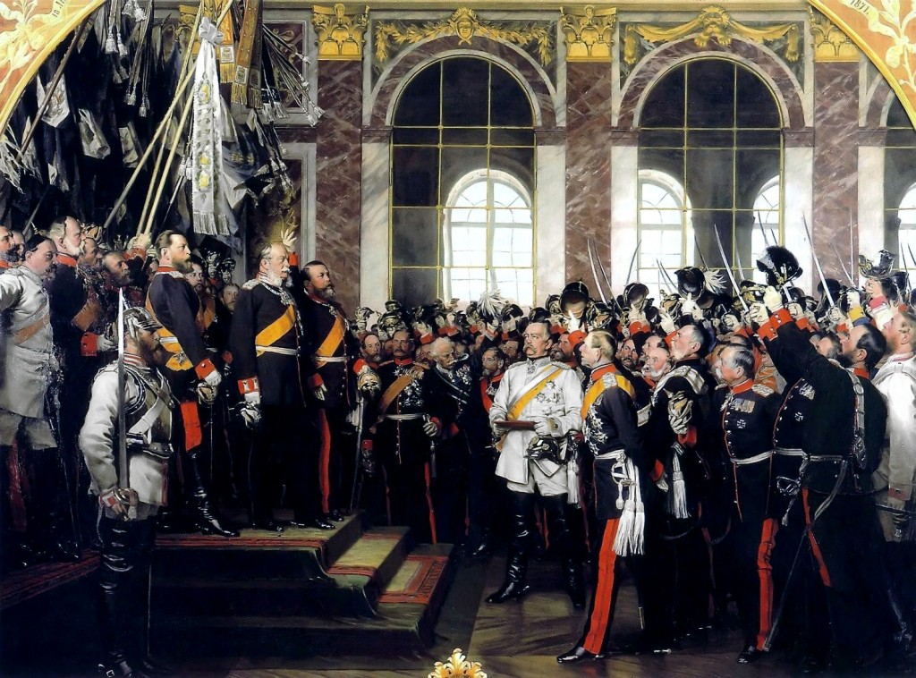 Inauguratie van keizer Wilhelm I