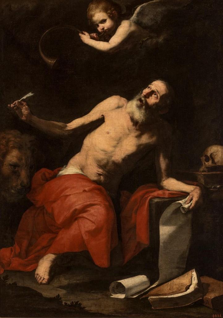 José de Ribera (1591–1652) Sint Hiëronymus en de engel, 1626 © State Hermitage Museum, St Petersburg