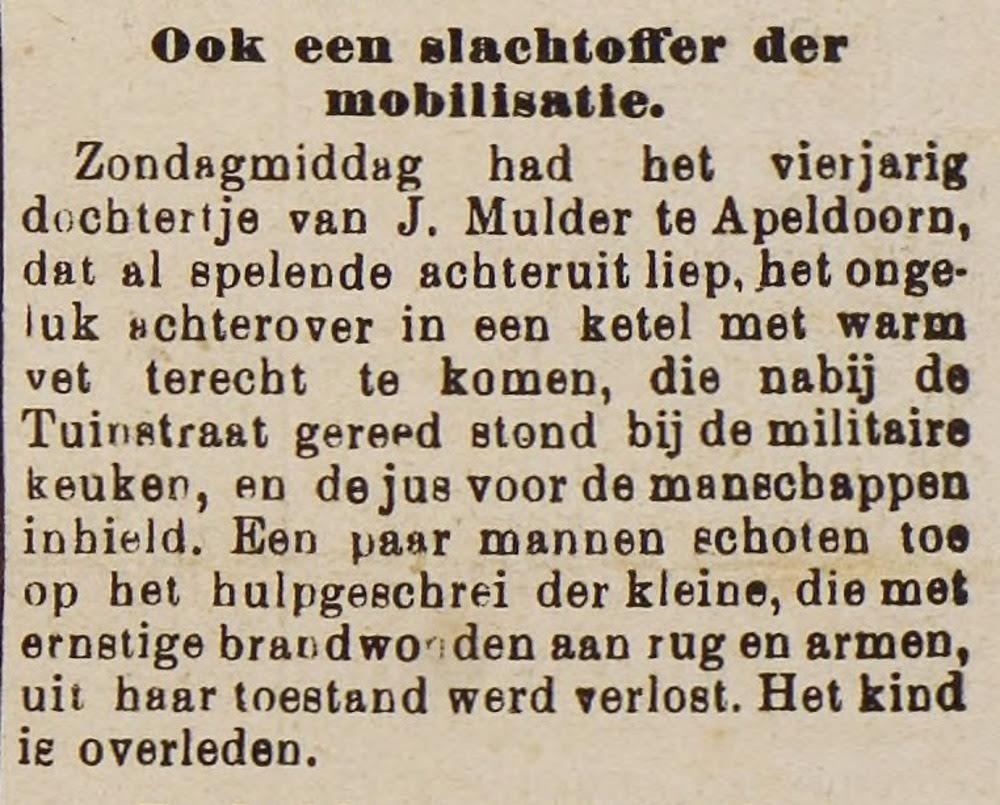 Overveluwsch Dagblad en Harderwijkerkrant, 24 april 1915 - Bron snv.courant.nu