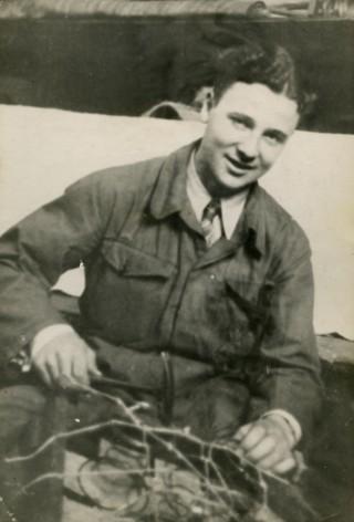 Peter van Pels, 1942, fotocollectie Anne Frank Stichting