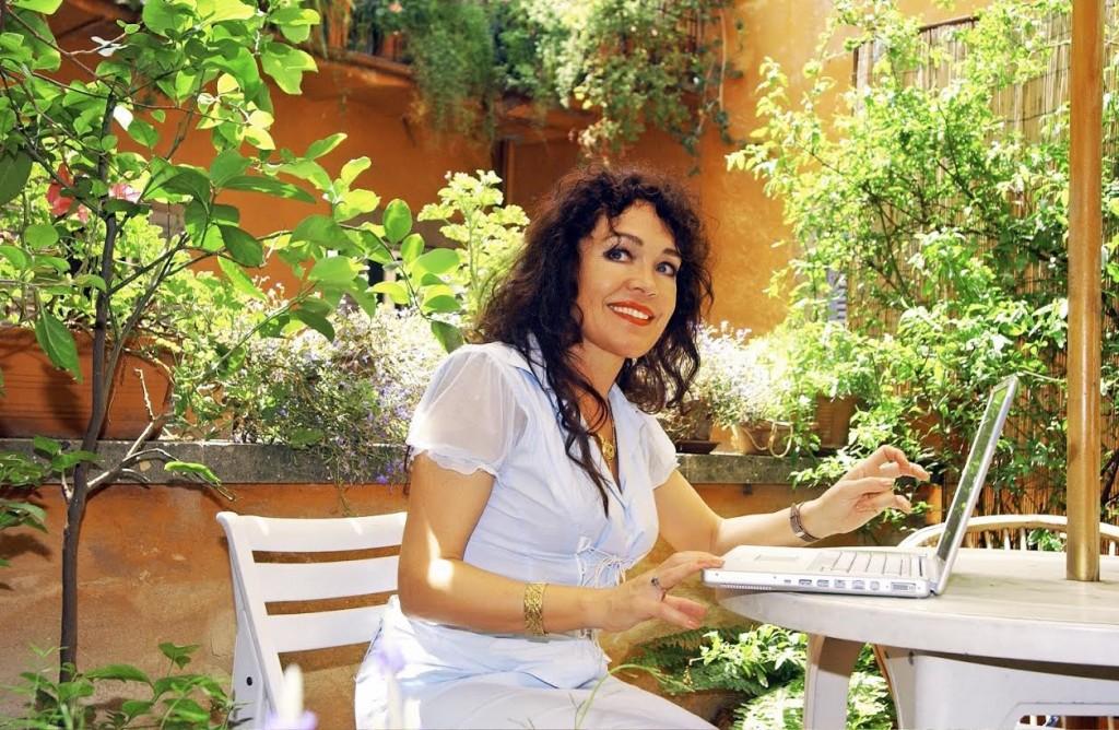 Rosita Steenbeek in Rome (privéfoto)