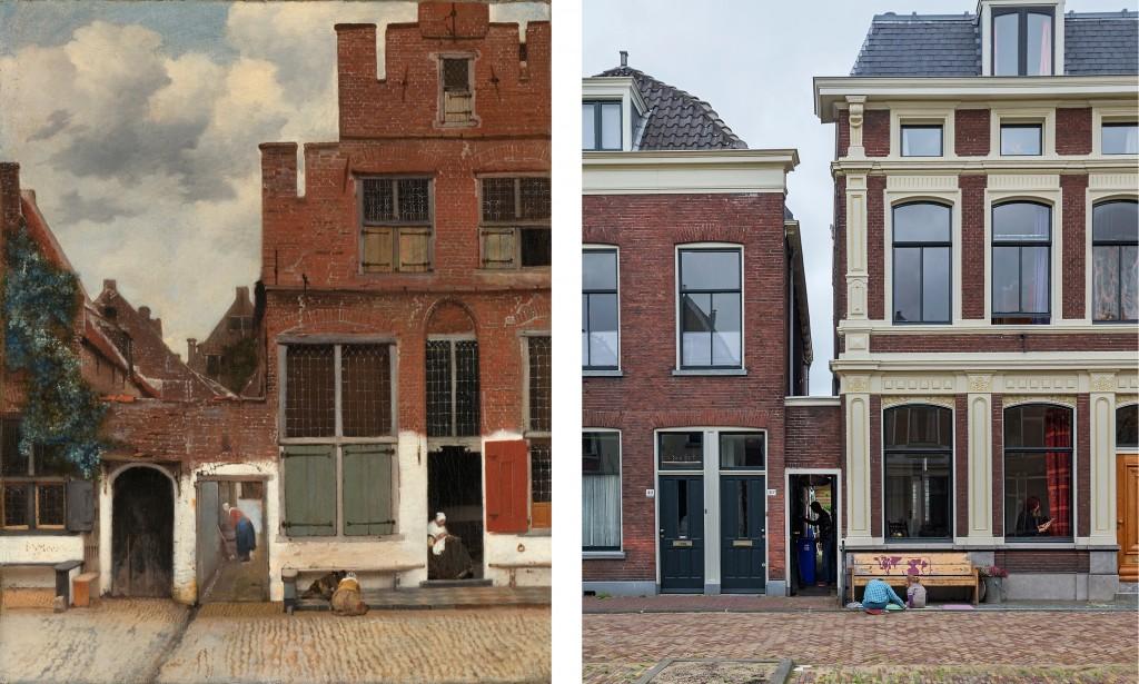 Het straatje oud en nieuw
