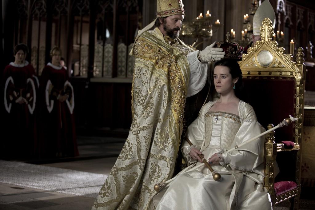 Anna Boleyn (Claire Foy) in Wolf Hall