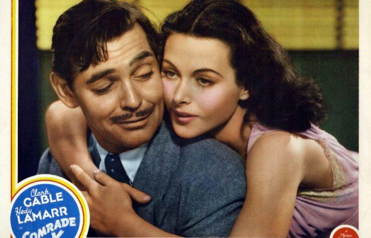 Clark Gable en Hedy Lamarr, 1939