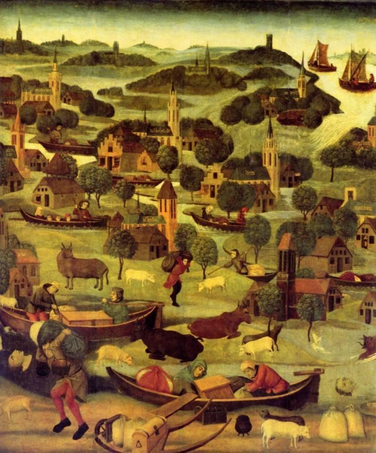 Sint Elisabethsvloed 1421 - Meester van de Heilige Elisabeth-Panelen