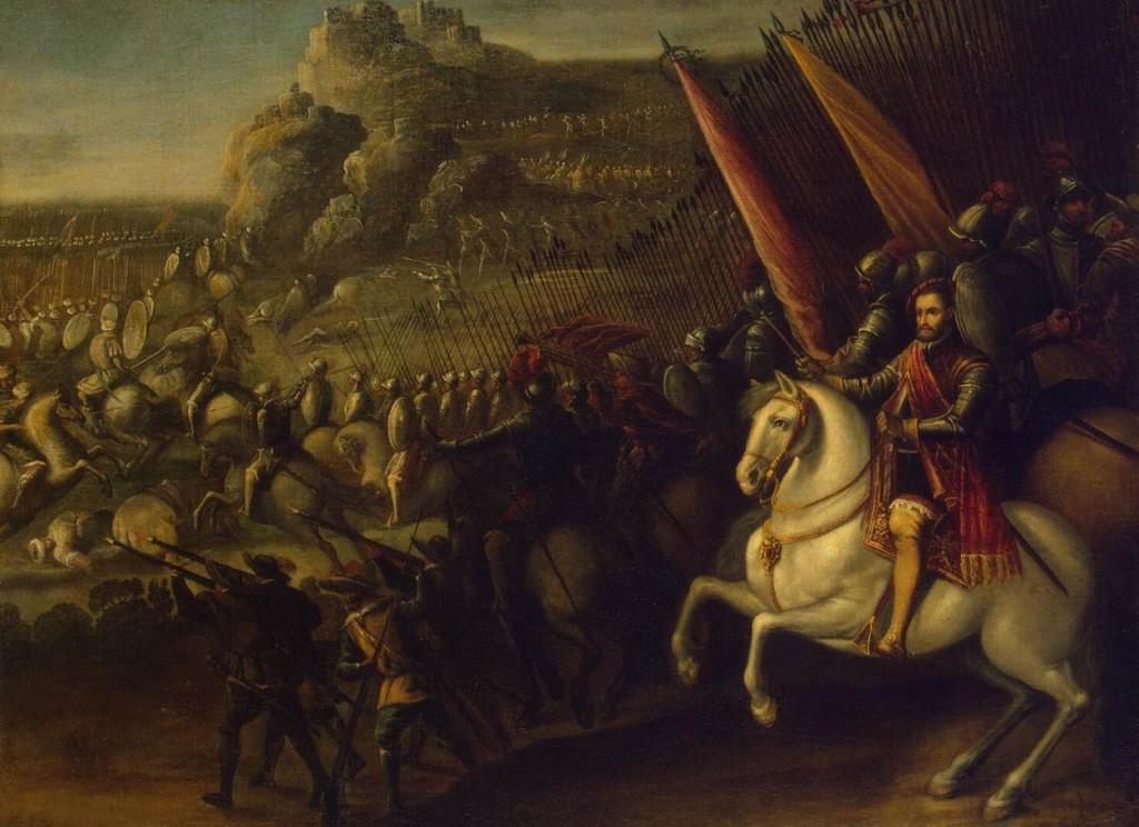 Juan de la Corte (ca. / c 1585–1662) - De veldslag, 1643 (?) - © State Hermitage Museum, St Petersburg