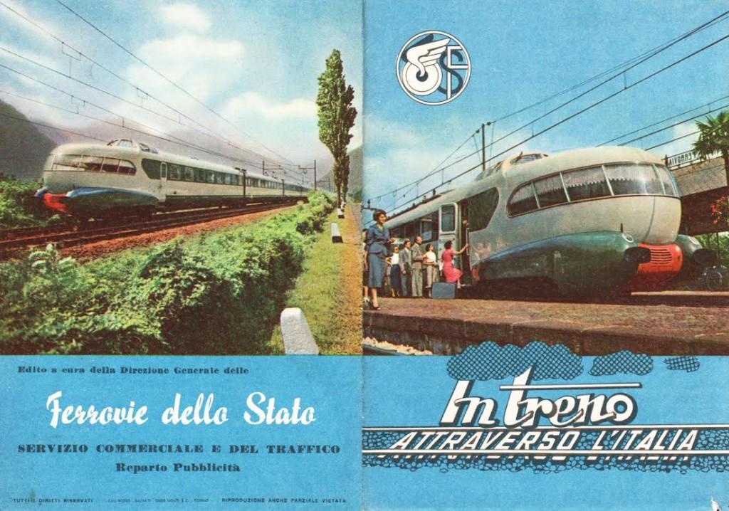Brochure Per trein door Italië, ca. 1953 (coll. Arjan den Boer)