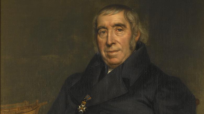 Cornelis Jan Glavimans. Portret uit 1841. Bron: Scheepvaartmuseum Amsterdam