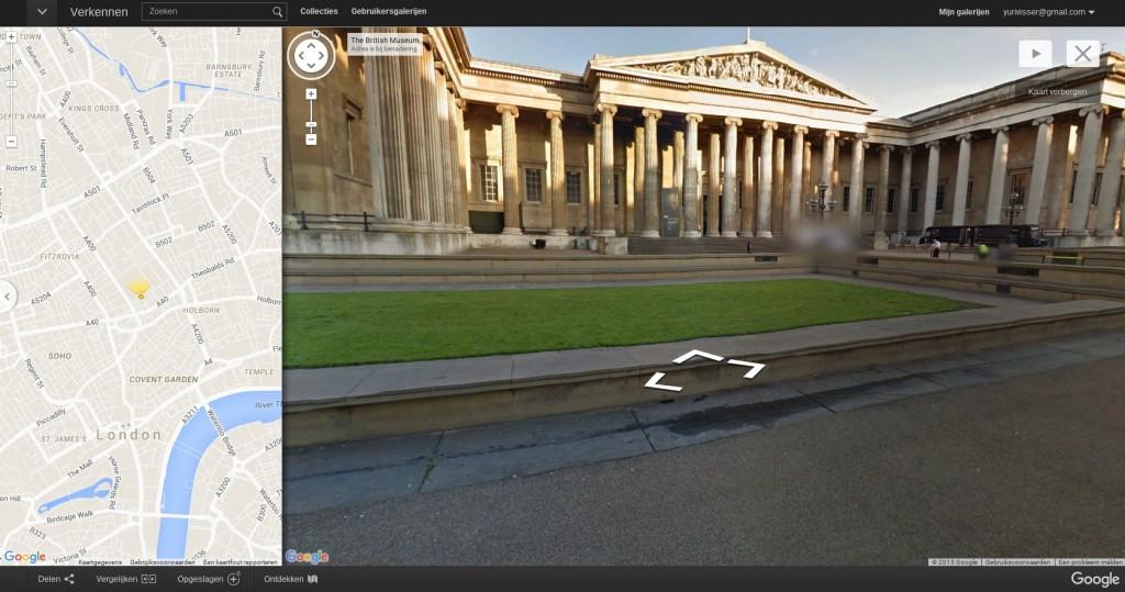 British Museum dankzij Google virtueel te bezoeken