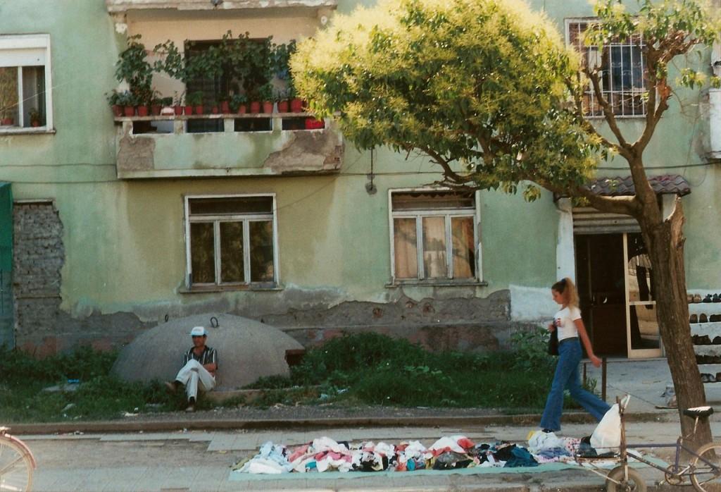 Bunker in de Albanese stad Shkodër. - cc