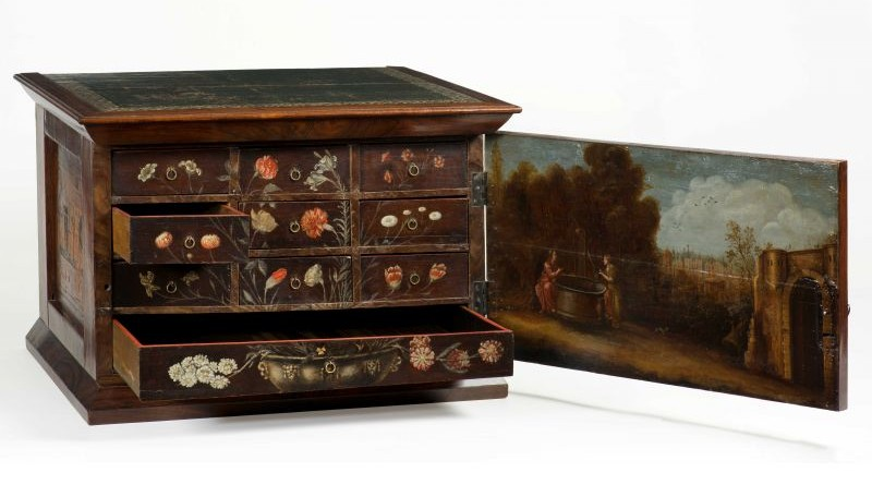 Een 17e-eeuws pronkkabinetje