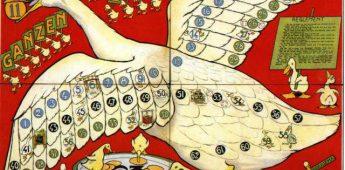 De geschiedenis van het Ganzenbord