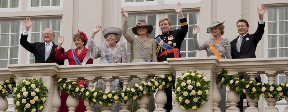 Foto van de Koninklijke familie. Bron: Ministerie van justitie