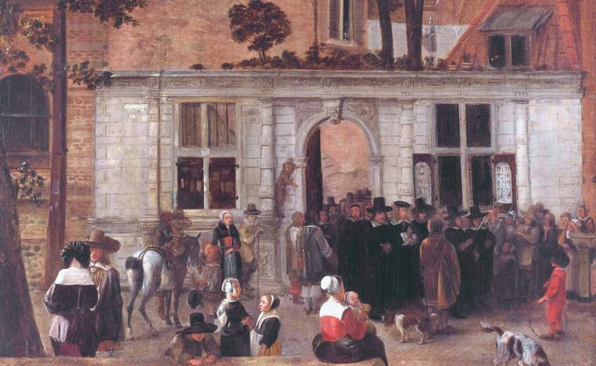 Een promotie aan de Leidse Universiteit omstreeks 1650