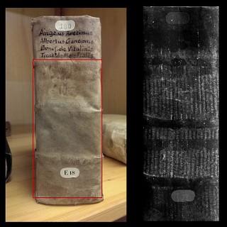 Een groot fragment van een dertiende-eeuws boek wordt zichtbaar gemaakt door de MA-XRF-techniek