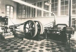 Foto uit 1893 van de Electrische Centrale Nijmegen. Bron: willemsmithistorie.nl