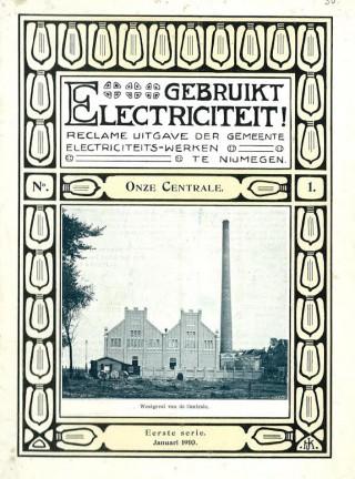 Reclameboekje over elektriciteit in Nijmegen, 1910. Bron: www.willemsmithistorie.nl